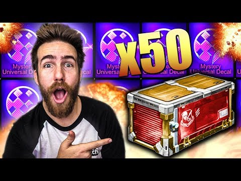 50 BRAND NEW PLAYERS CHOICE CRATES OPENING!