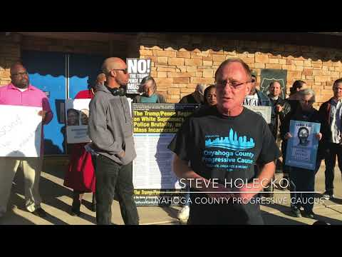 Protesters ask for Zack Reed to reject endorsement from police union