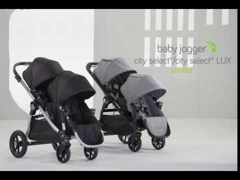 Attaching A Second Seat To The City Select And City Select Lux