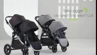 видео Купить Baby Jogger City Select Lux (2 в 1) (Коляска+Люлька+Поднос) - цены на коляску, отзывы, обзор на Baby Jogger City Select Lux (2 в 1) (Коляска+Люлька+Поднос) - Коляски 2 в 1