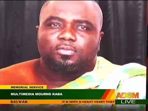 Multimedia Holds Memorial Service for KABA - Badwam on Adom TV (20-11-17)