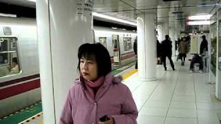 Tokyo earthquake in subway 11th March 2011