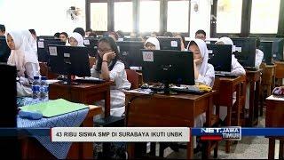 NET. JATIM - UNBK SMP DI SURABAYA