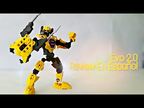 Lego Hero Factory Evo 2 0  Review En Español Neon Crack