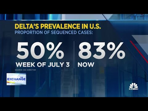 Delta variant is driving the rise in U.S. Covid cases