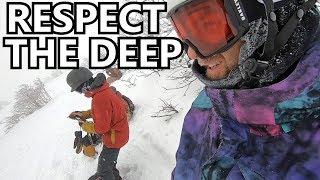 RESPECT THE DEEP - Japan Snowboarding