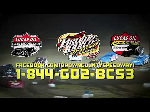 Brown County Speedway, Lucas Oil Late Models July 17, Lucas Oil Sprint Cars July 16