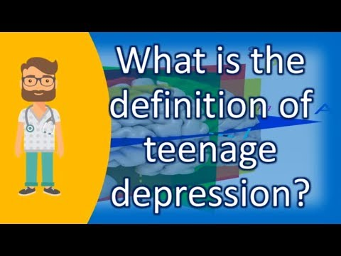 what-is-the-definition-of-teenage-depression-?-|health-news