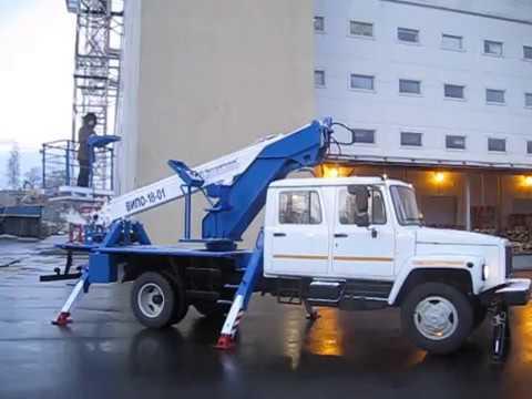 Автовышка телескопическая ВИПО-18-01-05 (ГАЗ-3309)