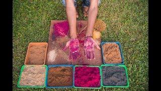 как делают арома-палочки (благовония) ручной работы