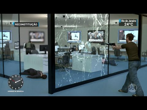 Homem que atacou a tiros jornal dos EUA já havia processado a empresa | SBT Notícias (29/06/18)