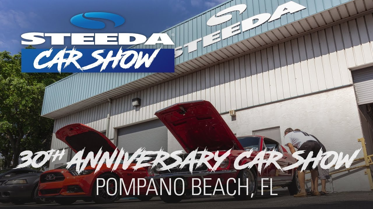 Steeda Th Anniversary Ford Car Show Pompano Beach FL YouTube - Pompano car show