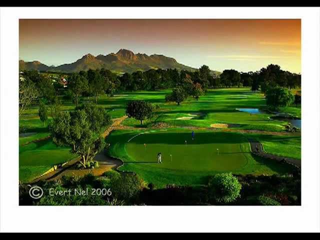 Video Stellenbosch Golf Club Zuid-Afrika