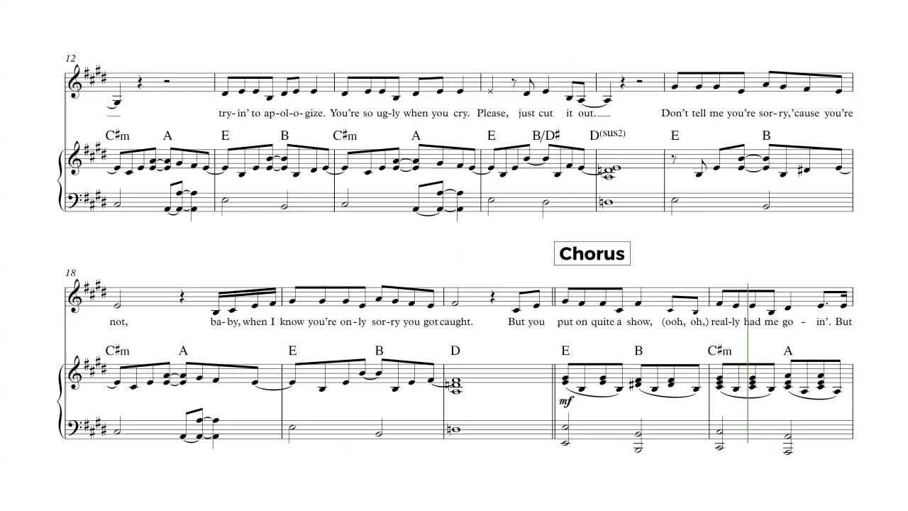 Piano take a bow rihanna sheet music chords and vocals youtube piano take a bow rihanna sheet music chords and vocals hexwebz Images
