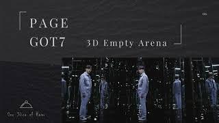 GOT7 (갓세븐) - PAGE [3D Empty Arena]