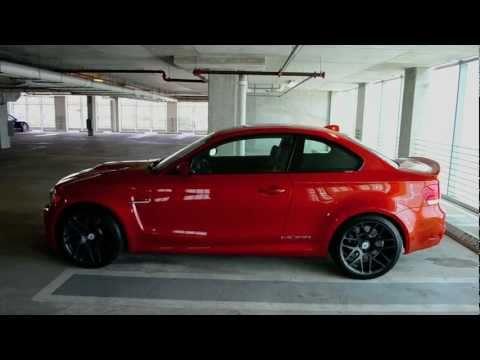 BMW 1M VALENCIA ORANGE MORR WHEELS
