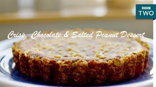 Crisp, Chocolate & Salted Peanut Dessert | Nadiya