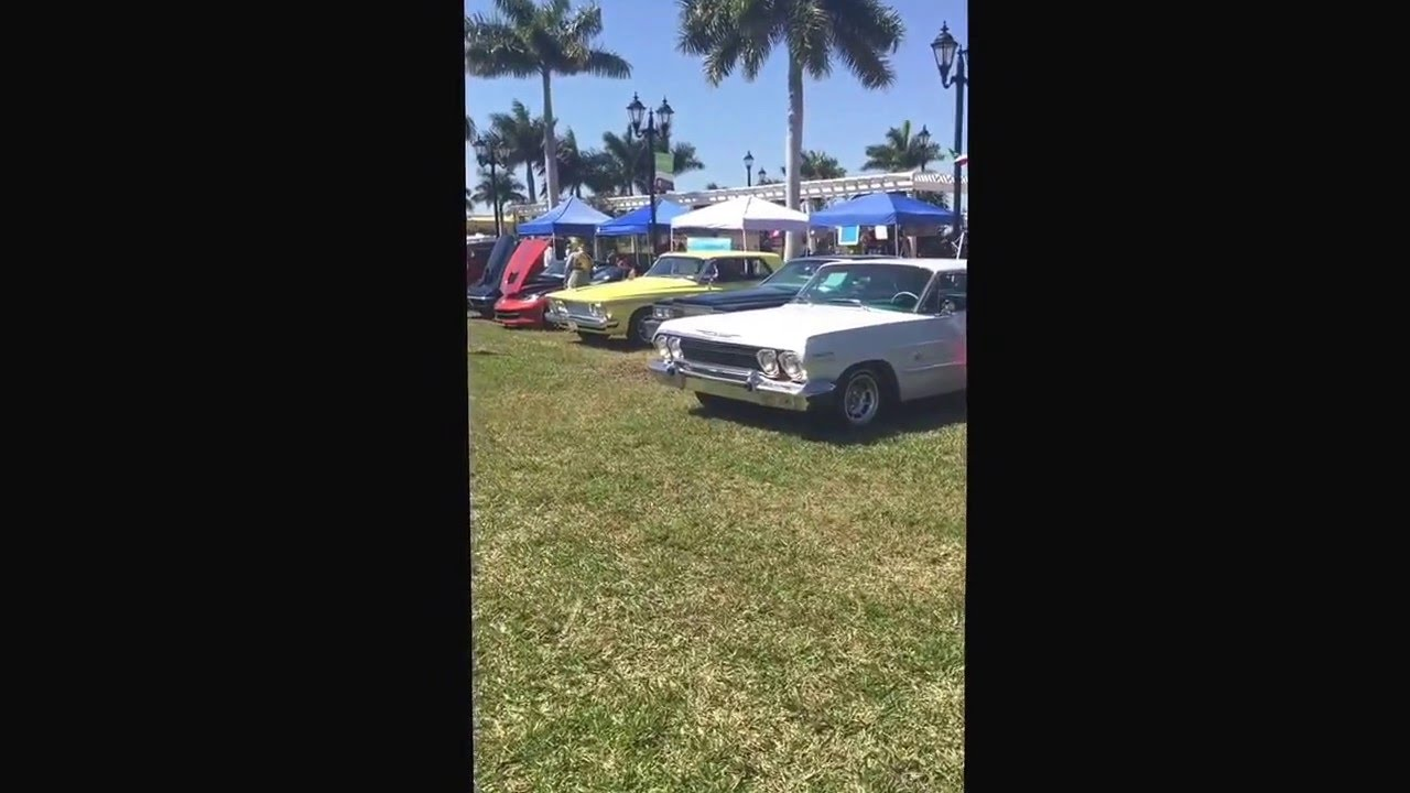 Car Show Italiano Festival Civic Center Port Saint Lucie FL YouTube - Civic center car show