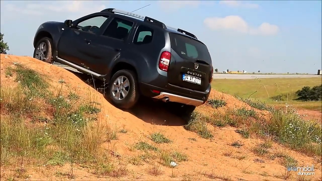 test dacia duster 4x2 vs 4x4 youtube. Black Bedroom Furniture Sets. Home Design Ideas