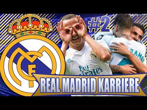 FIFA 18 HYPE: REAL MADRID KARRIEREMODUS LIVE