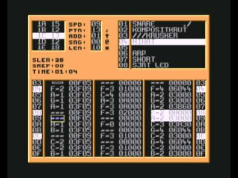 Commodore 64 Cyber Tracker Attempt