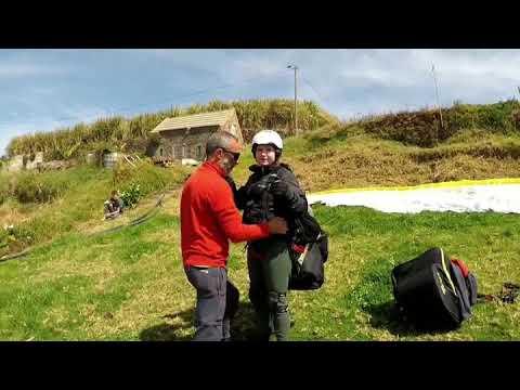 Tandem Paragliding in Madalena do Mar