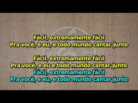 Jota Quest - Fácil (Karaoke)