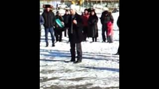 Митинг докеров п.Ванино 2 декабря