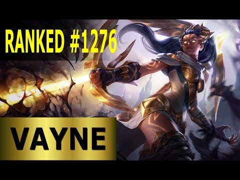 Vayne ADC | Full League of Legends Gameplay [Deutsch/German] Lets Play LoL - Ranked #1276 thumbnail