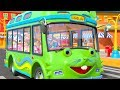 I Spy with my Little Eye | Wheels On The Bus & More Kids Rhymes by Little Treehouse