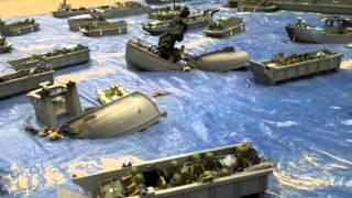 Playmobil - Débarquement de Normandie du 6 juin 1944