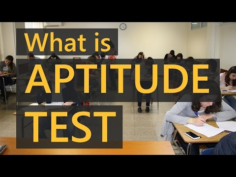 What is Aptitude Test | Aptitude test Components | Education Terminology || SimplyInfo.net