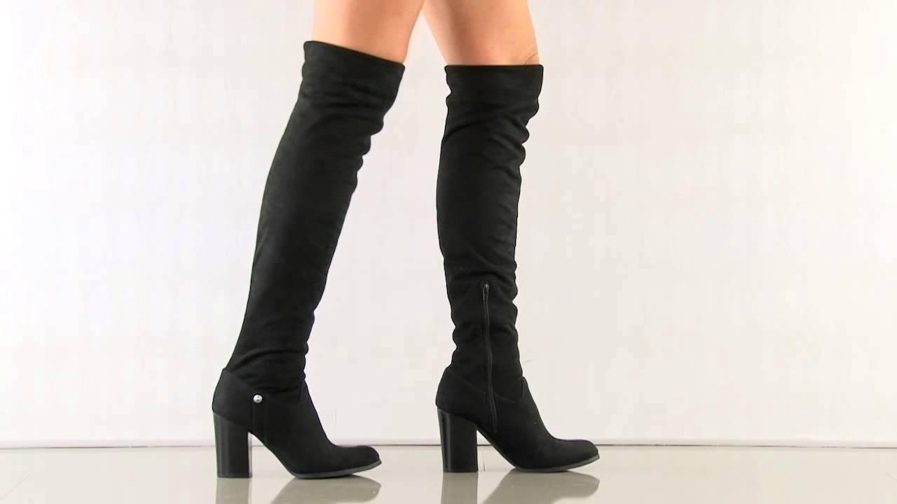 00f41436b1a Dandra 2 in Black Fabric Guess Footwear - YouTube