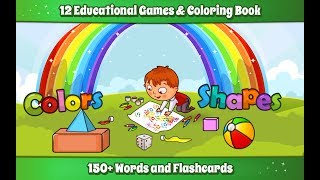 Kids Colors & Shapes Learning game on Andorid - Promotional Video