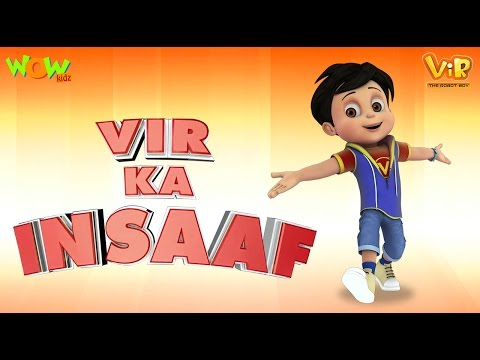 Vir ka Insaaf - Movie - Vir The Robot Boy - WITH ENGLISH, SPANISH & FRENCH SUBTITLES!