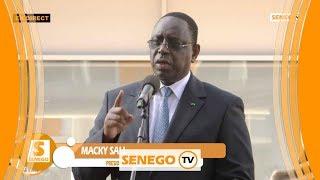 Sphère de Diamniadio: Macky Sall appelle à une utilisation judicieuse et promet des sanctions si… si