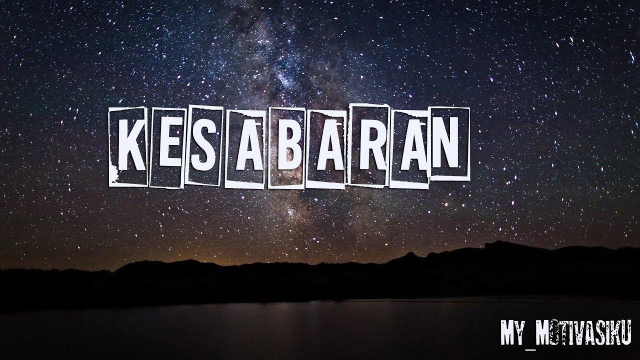 KESABARAN |Kata bijak motivasi islami | status wa ...