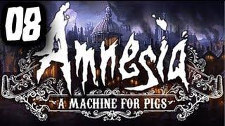 """SERCE MASZYNY!  - """"Amnesia: Machine for Pigs"""" #08 - Zagrajmy z Esem!"""