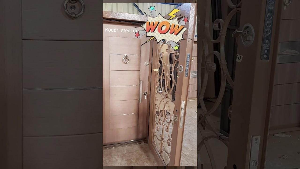 Porte D Entree Blindee Turque Sur Commande Et Sur Mesure Page Facebook Koudri Steel Door Youtube