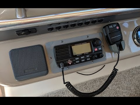 VHF/DSC Radio Installation - Sea Ray Sundancer