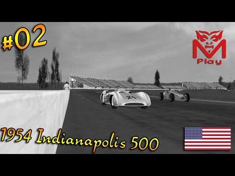 F1 Challenge VB | R.02 - 1954 Indianapolis 500 GP | (500 mile mayhem!)
