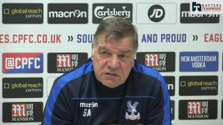 Allardyce urges Zaha to 'forget' newspaper reports