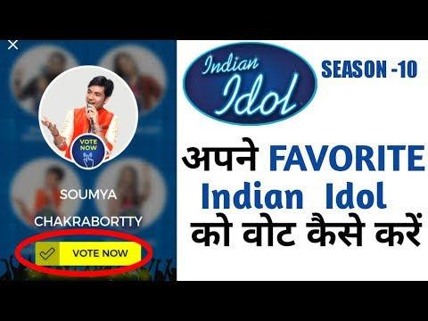 How to give live vote on Sony Liv App- Indian idol Season 10