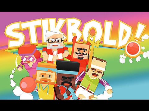 Stikbold: Dodgeball Adventure - FREE FOR ALL [Father Versus Son Versus All]