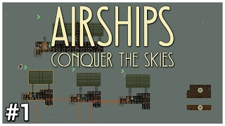 Airships Conquer the Skies Early Access   1   MiniZep   Lets Play  Gameplay