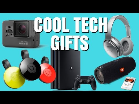COOL TECH GIFTS !!! (2017)