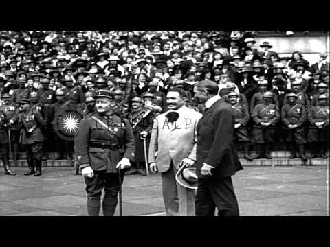 William Gibbs McAdoo opens the Fourth Liberty Loan campaign in Washington DC. He ...HD Stock Footage