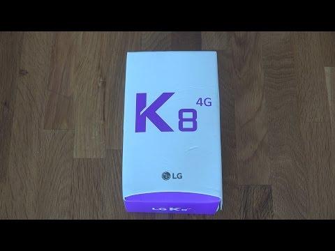 LG K8 - Unboxing!