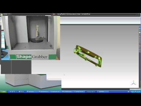 ShapeGrabber Automated 3D Laser Inspection Systems