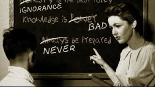 Old School Sex Education and Hollywood